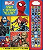 Marvel - Spider-man, Avengers, Black Panther, and More! Sound Storybook Treasury - PI Kids