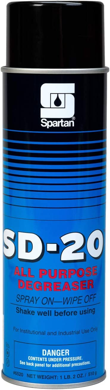 Spartan SD-20 Ranking TOP18 All-Purpose Degreaser 20 Recommended Case Aerosol 12 oz of