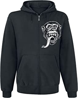Gas Monkey Garage Officially Licensed GMG - Dallas Texas Zipped Hoodie