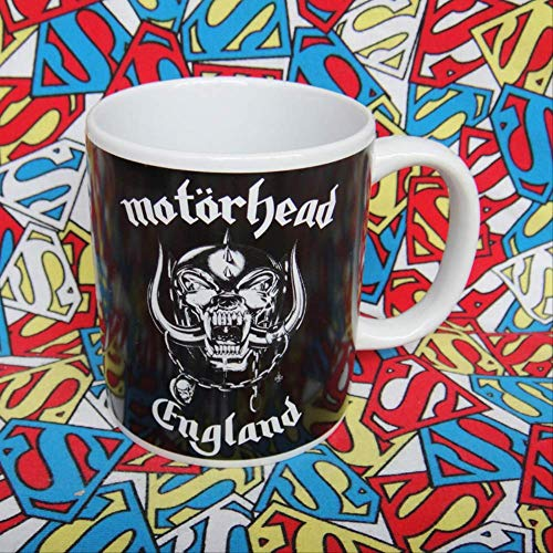 British heavy metal hard rock band Motorhead Motorhead's Motorhead Party Discipline Tribute Ceramic Cup
