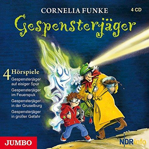 Gespensterjäger: Vier Hörspiele: Gespensterjäger auf eisiger Spur, Gespensterjäger im Feuerspuk, Gespensterjäger in der Gruselburg, Gespensterjäger in großer Gefahr