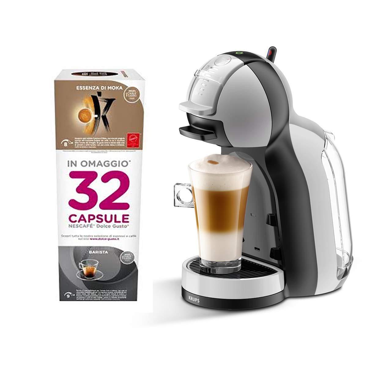 Cafetera expreso Mini Me Nescafè Dolce Gusto con regalo 32 cápsulas surtidas: Amazon.es: Hogar
