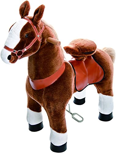 Ahorre hasta un 70% de descuento. Smart Gear Gear Gear Pony Cycle marrón Horse Riding Toy  World's First Simulated Riding Toy for kids Age 4-9 Years Ponycycle ride-on medium by Smart Gear  barato