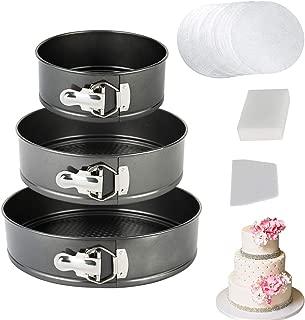 vplus Springform Pan Set,3 Pieces Nonstick Bakeware Set (7