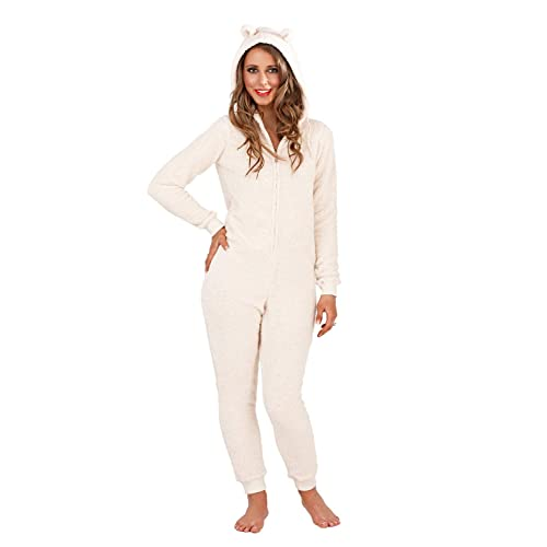 Womens Loungeable Macaroon Onesie Or Dressing Gowns Ladies Luxury Nightwear 870eff74dea5