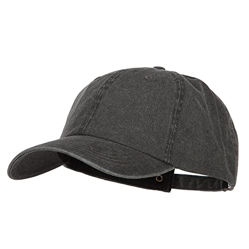 9ada2b2589961 E4hats Big Size Washed Pigment Dyed Cap