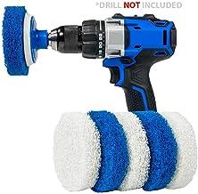 RotoScrub Bathroom Cleaning Drill Accessory Kit