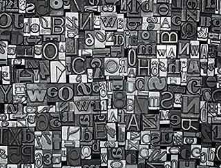 3D Letter Block 185 Wall Paper Print Decal Deco Indoor Wall Mural Self-adhesive Wallpaper AJ WALLPAPER AU Zoe (416x254cm(W...