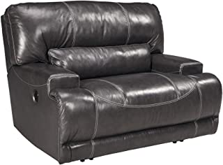 Signature Design by Ashley McCaskill Oversized Recliner, Gray