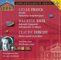 Franck: Psyche / Variations Symphoniques by ANDA / CONCERTGEBOUW ORCH / VAN BEINUM
