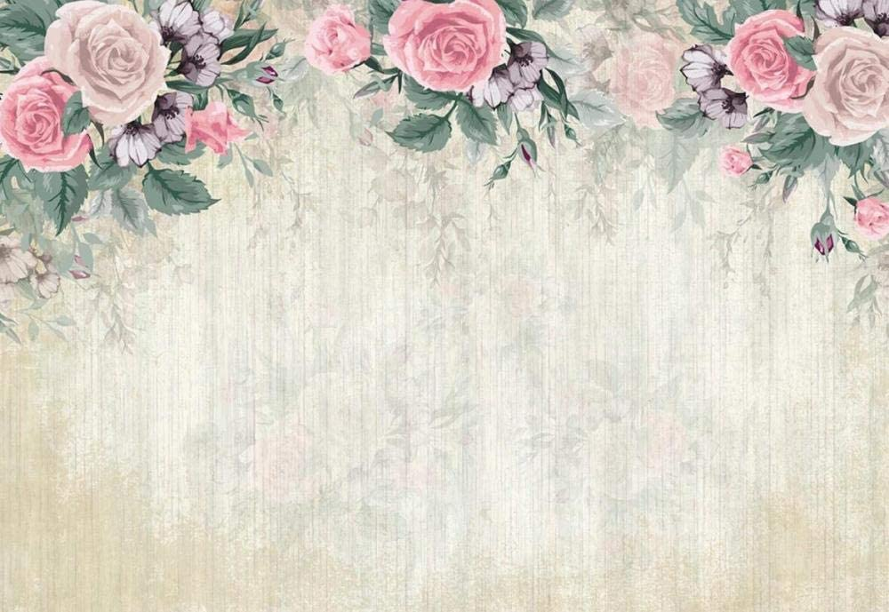 Wall We OFFer at cheap prices Murales 3D Sales of SALE items from new works Wallpaper Dreamy Painted Room Living Roses Hand