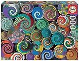Educa Cestas africanas. Puzzle de 1000 Piezas. Ref. 19020, Multicolor