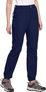 Willit Women's Lightweight Hiking Pants Cargo Outdoor Pants Quick Dry UPF 50+ Pants Water Resistant Zipper Pockets