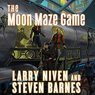 The Moon Maze Game audiobook cover art