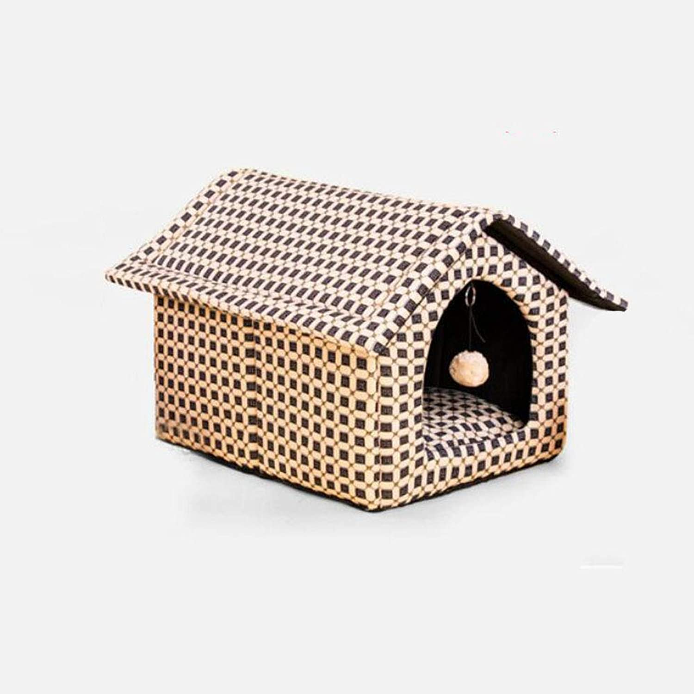 FH Kennel Washable Dog Supplies Nest Dog Pet Nest Cat Litter