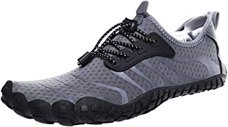 Loosnow Men Water Shoes,Women Aqua Shoe Barefoot Quick-Dry Outdoor Kayaking Beach Athletic Shoes