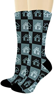 Real Estate Gifts New Home Socks Novelty Housewarming Gifts New Homeowner Gifts Novelty Crew Socks