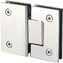 piao piao Heavy Duty 180 graden glazen deur kast vitrinekast clip glas douche deur scharnier vervangende onderdelen roestv...