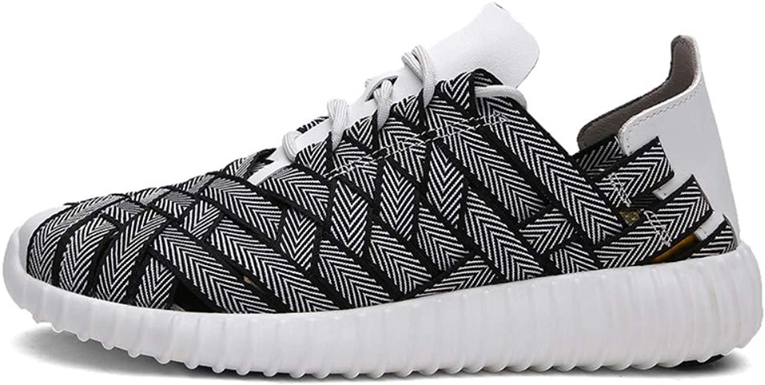 Couple shoes, Summer Sports shoes, Outdoor Breathable Women's shoes, Hand-Woven shoes, Non-Slip Wearable Casual Men's shoes