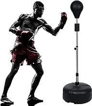 ANCHEER Speed Punching Bag, Freestanding Reflex Bag Boxing Punching Ball Speed Bag