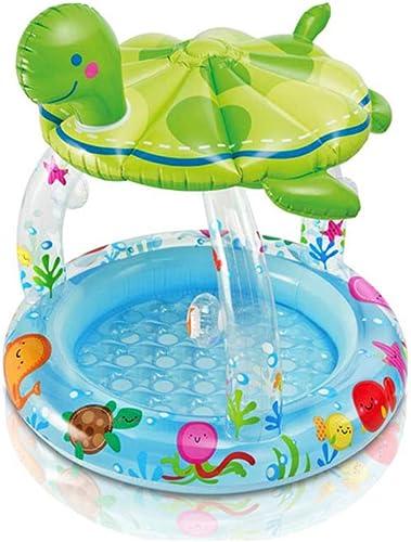 tienda en linea Asiento del flotador para el baño de de de la piscina para bebés - Asiento inflable del flotador para bebés con toldo para entrenamiento de natación Adecuado para 6-36M , Piscina al aire libre para Niños  mejor marca