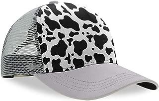 YongColer Unisex Mesh Baseball Cap Dad Hat Adjustable Trucker Cap Curved Visor Hat