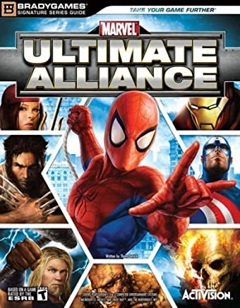 Marvel Ultimate Alliance Official Strategy Guide (Bradygames Signature Guides) by Thom Denick (28-Oct-2006) Paperback