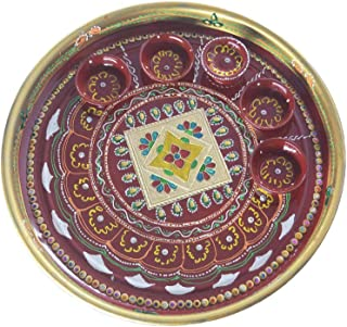 DEVIKA Shubh Labh Pooja THALI for Festive and Gifting. for Ganpati Navratri, Dashera Diwali! (PT FD11, BIG11)
