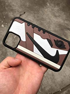 Amazon.com: New iPhone Shoe Cell Phone Case TravisS x Jordan ...