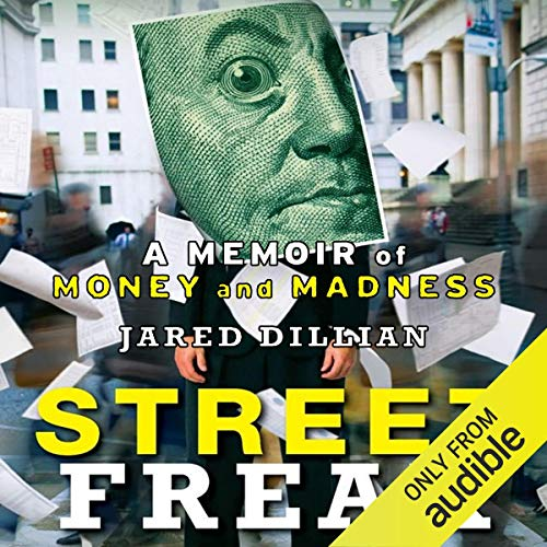 Street Freak audiobook cover art
