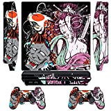 Skin Sticker for PS3 Playstation 3 DualShock 3 Decals Custom Mod Cover Cases