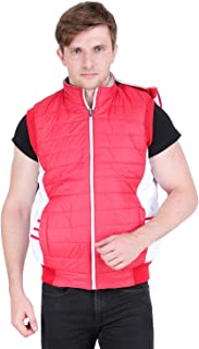 Online Shopping Mall Sleeveless Polyester Reversible Jacket with Hood for Men/Boys