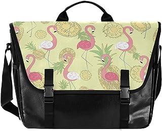 Bolso de lona para hombre y mujer, diseño de piña, color rosa