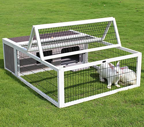 Rabbit Hutch With Run Plans