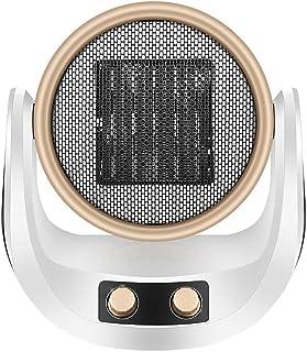 QAZWSX Calefactores Electricos Baño,Calefactor Cerámico ABS Material Ignífugo Alta Potencia Bajo Ruido Calentamiento Rápido Protección Múltiple Apto para Hogar Y Oficina