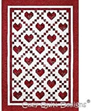 Pattern, Cross My Heart, Cozy Quilt Designs, for 2 1/2