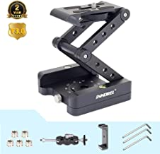 Z-Flex Tilt Head Tripod Upscale Z Type Tripod Head The 3th Generation Z Tilt Camera Mount (360° Vertical & Horizontal Rotation) for DSRL Camcorder Slider Rail