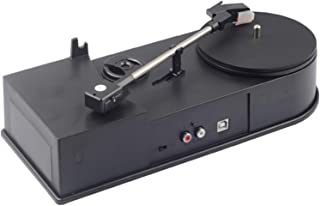 $142 » DSWHM Exquisite and Elegant Turntable Vintage Record Player with Speakers Portable Turntable Wireless Player Retro Record ...