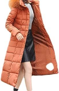 Macondoo Women Hooded Winter Cotton-Padded Puffer Thicken Parka Jacket Coat