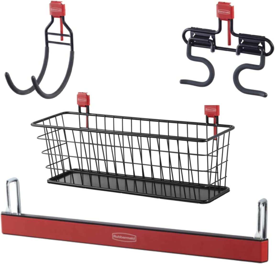 Regular dealer Save money Rubbermaid Shed Large Accessory Kit Magnetic with S Wire Basket