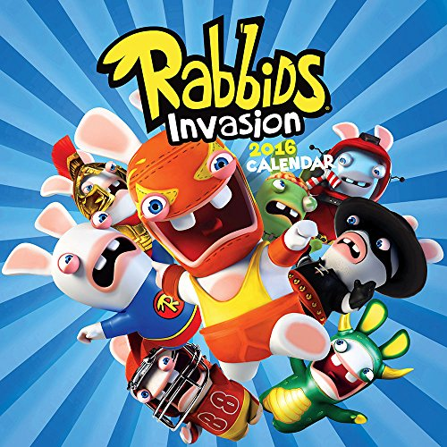 Rabbids Invasion 2016 Calendar