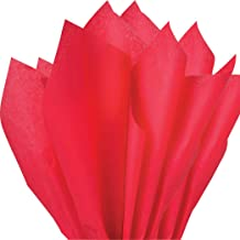 """100 pc Mighty Gadget (R) Red Tissue Wrapping Paper - 15"""" x 20"""""""