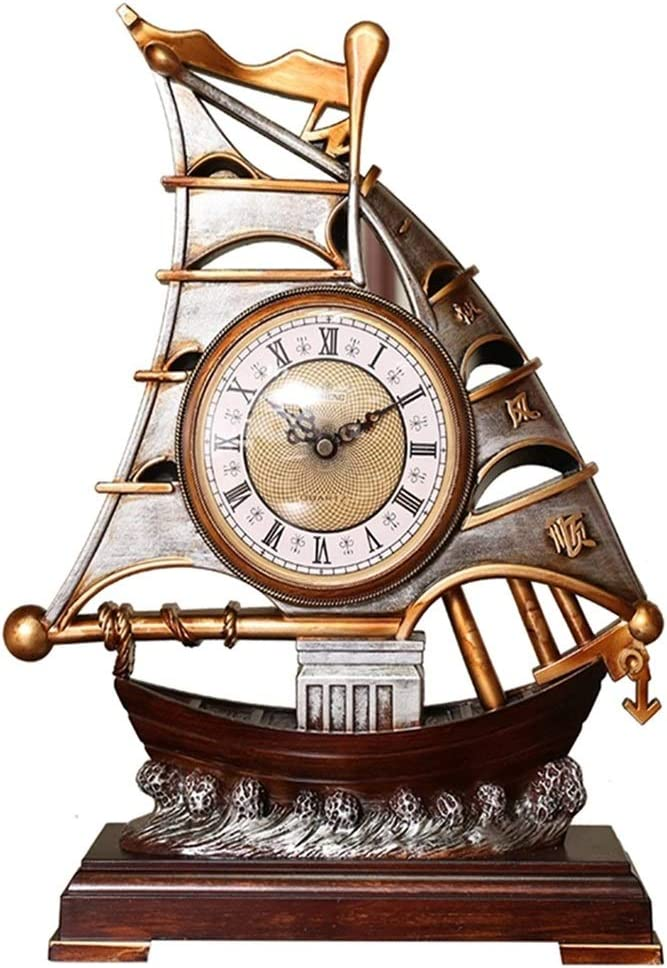 New mail order OMIDM Table Clock Creativity Ornament Home Fashionable Tabletop Nostal