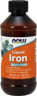Now Supplements, Iron Liquid, 8-Ounce