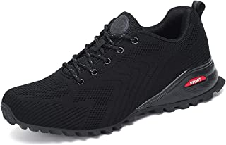 Dannto Zapatillas de Deporte Hombre Zapatos para Correr Aire Libre y Deporte Athletic Cordones Zapatillas De Running Trail...
