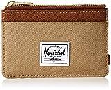 Herschel Oscar RFID - Tarjetero para Hombre Kelp/Sillín de Color marrón. Talla única