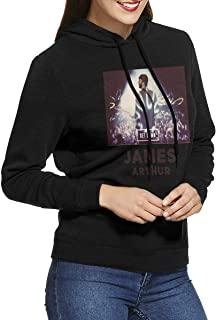 Womens Hoodie Classic James Arthur Adult Pullover Black XL