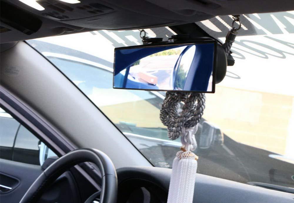 Broadway 300mm Wide Flat Car Truck Van Clip On Rear View Mirror For LEXUS MAZDA