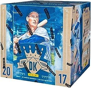2017 Panini Diamond Kings Baseball HOBBY box (12 pk)