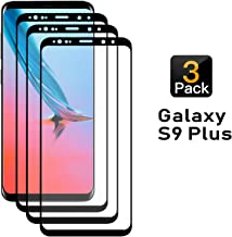 [3 Pack] Galaxy S9 Plus Screen Protector, Tempered Glass Compatible with S9 Plus, [Case Friendly] [Anti-Bubble] [HD Clear]